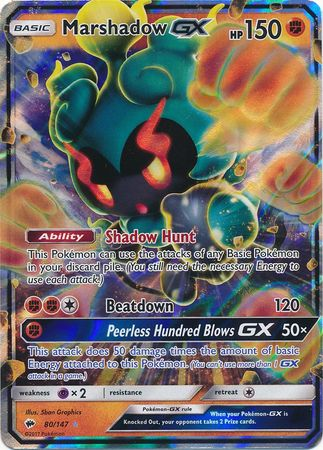 Marshadow-GX - 80/147 - Ultra Rare