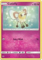 Cutiefly - 95/147 - Common on Channel Fireball