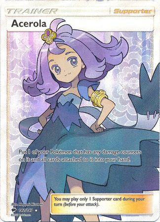 Acerola - 142/147 - Full Art Ultra Rare