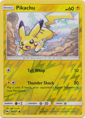 Pikachu - 40/147 - Common - Reverse Holo