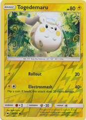 Togedemaru - 47/147 - Common - Reverse Holo