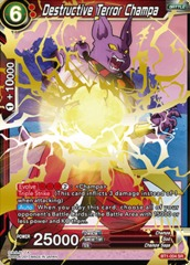 Destructive Terror Champa - BT1-004 - SR on Channel Fireball