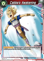 Cabba's Awakening - BT1-027 - C on Channel Fireball