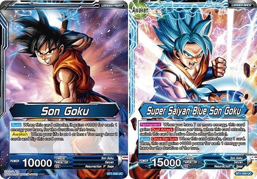 Son Goku // Super Saiyan Blue Son Goku - BT1-030 - UC