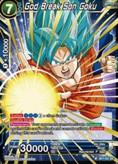 God Break Son Goku - BT1-031 - SR