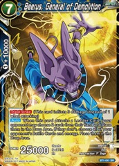 Beerus, General of Demolition - BT1-041 - SR on Channel Fireball