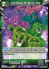 Overflowing Bio Warrior Army