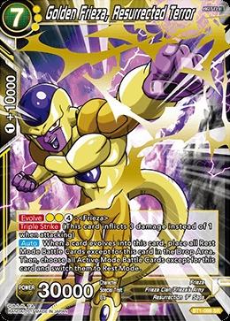 Golden Frieza, The Resurrected Terror - BT1-086 - SR
