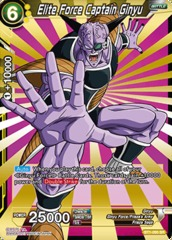 Elite Force Captain Ginyu - BT1-095 - SR