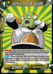 Ginyu Force Guldo - BT1-099 - C on Channel Fireball
