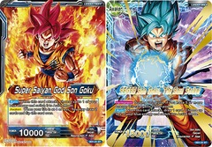 Super Saiyan God Son Goku // SSGSS Son Goku, The Soul Striker - SD1-01 - ST on Channel Fireball