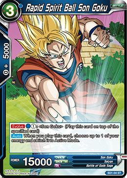 Rapid Spirit Ball Son Goku - SD1-04 - ST