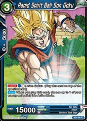 Rapid Spirit Ball Son Goku - SD1-04 - ST