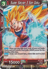 Super Saiyan 3 Son Goku - Shop Tournament Promo - P-003 - PR