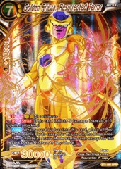 Golden Frieza, The Resurrected Terror - Special Rare - BT1-086 - SPR on Channel Fireball
