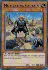 Motivating Captain - COTD-EN031 - Rare - 1st Edition