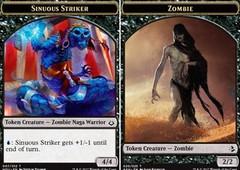 Sinuous Striker // Zombie Token