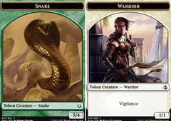 Snake // Warrior Token