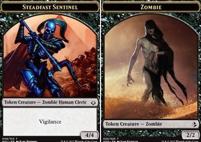 Steadfast Sentinel // Zombie Token