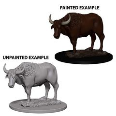 Deep Cuts Unpainted Miniatures - Oxen