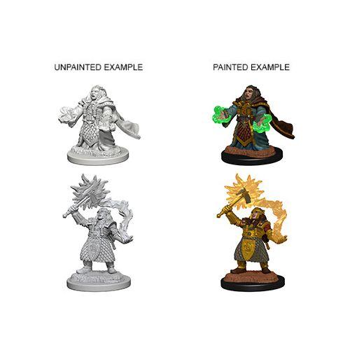 Nolzur's Marvelous Unpainted Miniatures - Dwarf Female Cleric