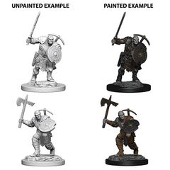 Dungeons And Dragons: Nolzur's Marvelous Unpainted Miniatures - Earth Genasi Male Fighter