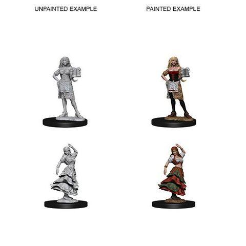 Pathfinder Battles Unpainted Minis - Bartender/Dancing Girl