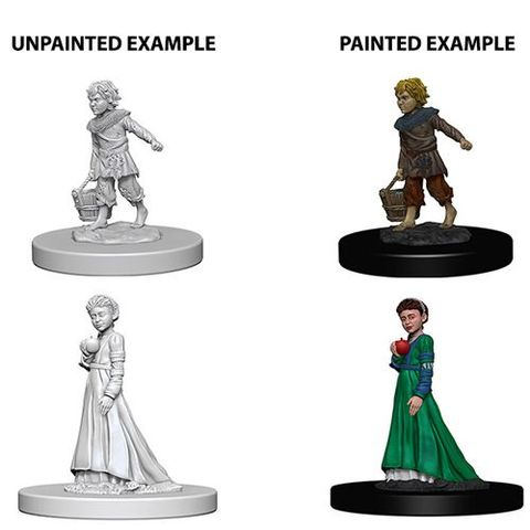 Pathfinder Battles Unpainted Minis - Children