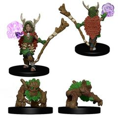 Wardlings Miniatures: Boy Druid And Tree Creature