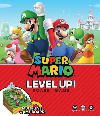 Super Mario - Level Up!