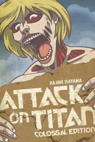 Attack On Titan Colossal Ed Tp Vol 04 (Mr) (STL054537)