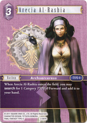 Arecia Al-Rashia - 3-097R - Foil on Channel Fireball