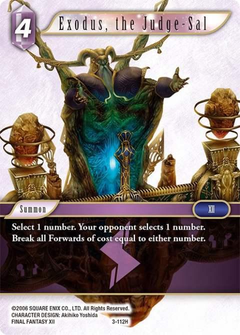 Exodus, the Judge-Sal - 3-112H - Foil