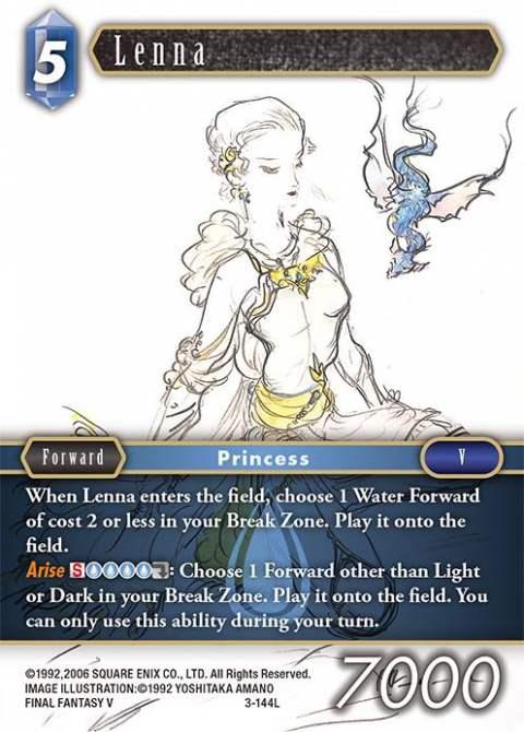 Lenna - 3-144L - Foil