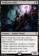 Vindictive Lich
