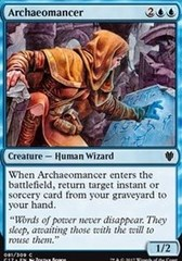 Archaeomancer on Channel Fireball