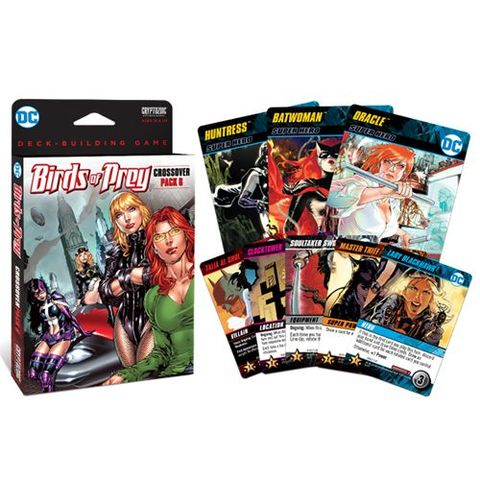 Dc Comics - Deck Building Game: Crossover Pack 6 Birds Of Prey