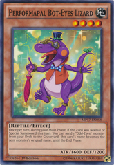 Performapal Bot-Eyes Lizard - MP17-EN058 - Common - 1st Edition