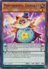 Performapal Gongato - MP17-EN059 - Common - 1st Edition on Channel Fireball