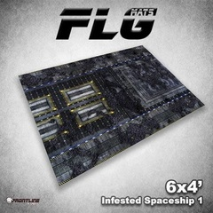 FLG Mats - Infested Spaceship 1 4X6