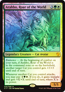 Oversized Foil - Arahbo, Roar of the World