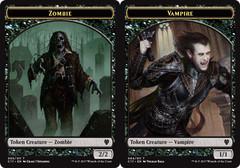 Zombie // Vampire Token