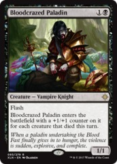 Bloodcrazed Paladin - Foil on Channel Fireball