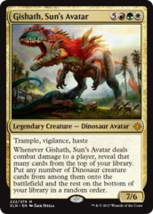 Gishath, Suns Avatar - Foil