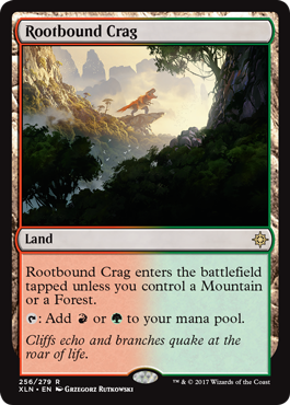 Rootbound Crag - Foil
