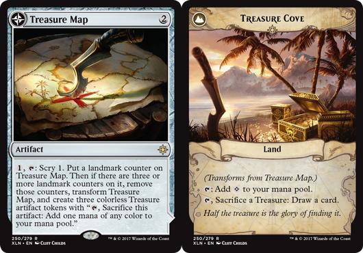 Treasure Map // Treasure Cove - Foil