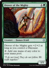 Drover of the Mighty - Foil