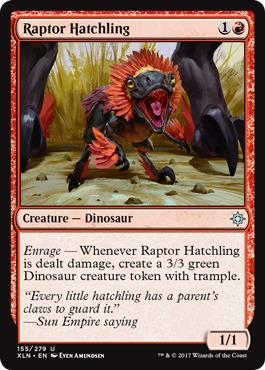 Raptor Hatchling - Foil