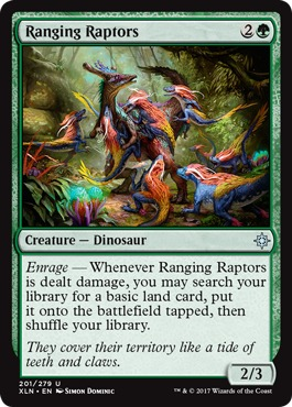 Ranging Raptors - Foil