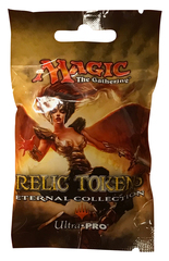 Relic Token Eternal Collection for Magic the Gathering Ultra Pro Blind Pack (UP86592) [Contains 3 Tokens]
